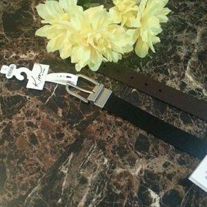 NWT Genuine  Leather Belt size Large